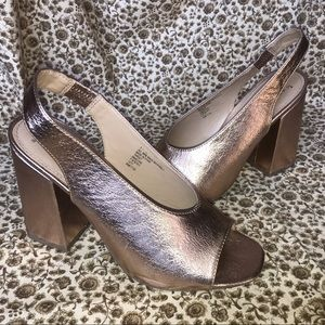 A New Day Copper/Gold heels
